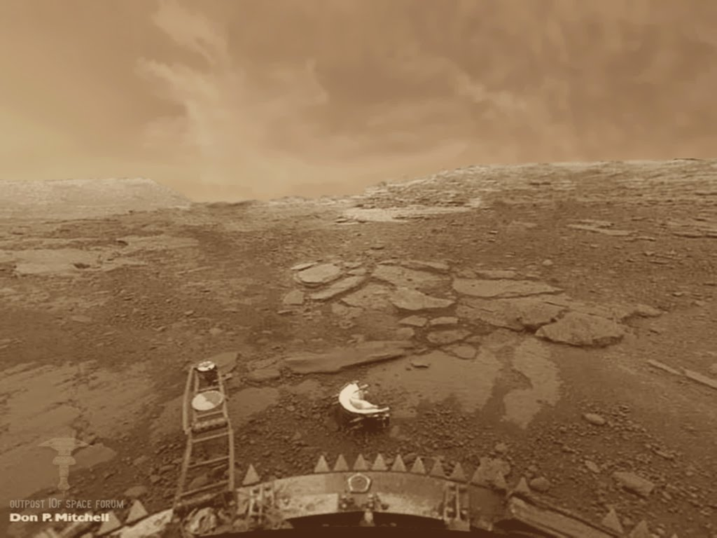 venus surface nasa - photo #21